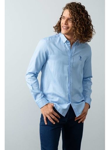 U.S. Polo Assn. Gömlek Lacivert